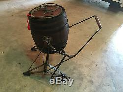 Antique Daisy Butter Churn With Iron Pedal Churn With Claw Feet-very Unusual