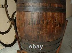 Antique Belle Butter Churn with Original Stand