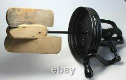 Antique DAZEY Butter Churn No 4 St Louis MO made in USA with Tulip Base