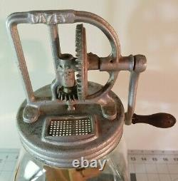 Antique Dazey Butter Churn No. 40 Great Collectable Condition Functions Smoothly