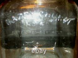 Antique Dazey Glass Butter Churn No 40 St Louis MO Patent Feb 14, 1922 WithScreen