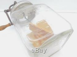 Antique Dazey No 40 Glass Butter Churn Patented Feb 14 1922 St Louis Mo