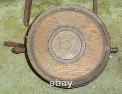 Antique Favorite, J. Mcdermaid Wood Barrel Butter Churn With Stand, Rockford, IL