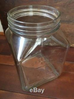 Antique Glass Dazey Butter Churn No. 40 Patented Feb 14,1922 Oval Screen Vintage