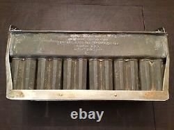 Antique Popsicle Mold 24 Double Popsicle Bars COPPER AND HEAVY DUTY 1930s