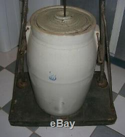 Antique Reliable Taylor Bros. Churn Co. Butter Churn / LOCAL PICKUP ONLY