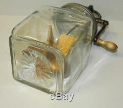 Antique Triple Marked Dazey No. 40 Glass Butter Churn Patent 1922