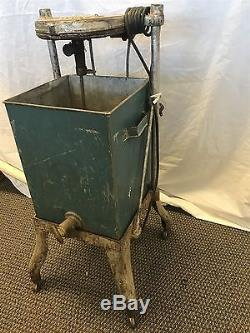 Antique Vintage Electric Butter CHURN Taylor Bros Church & Mfg Co St Louis Dandy