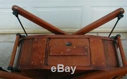 Antique Wooden Butter Churn very early and nice condition