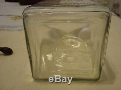 Authentic Dazey Butter Churn #60 Glass and Lid Marked