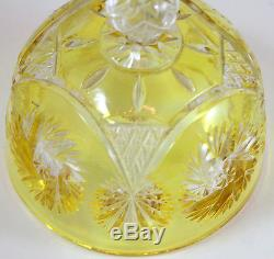 Cut-Crystal Butter Churn with Cover
