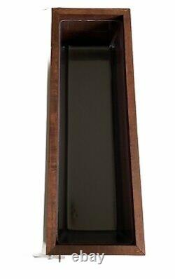 Don Julio Tequila Wood 6 Tray Barware Condiment Caddy