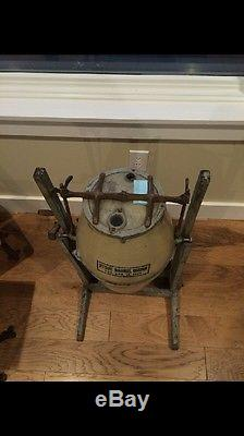 Excellent Condition! Stone Crock Barrel Churn 5 Gallon with Wood Stand