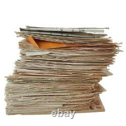 Hundreds Of Vintage Recipes Handwritten Typed Clipped Binder Over 6lbs