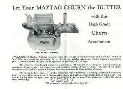 Maytag butter churn- very rare