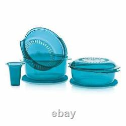 NEW tupperware Stack Cooker in peacock