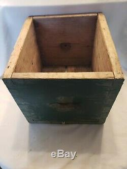 Rare Antique Barn find 1800s Wooden Shaker Rotary Butter Churn- Orig Paint