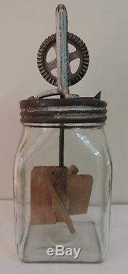 Rare Old Vintage Dazey Butter Churn No 20 Made In USA Patented Feb 14,22 Marked