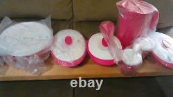 Tupperware 11 Pc. Essentials Everyday Set with Lids & Pitcher NEW