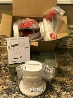 Tupperware Fusion Master Spiralizer PLUS Base And Instructions NEW
