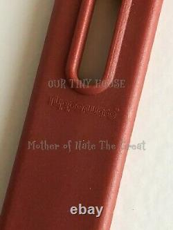Tupperware Kitchen Duos Cooking Utensils Paprika Red Ladle Spoon Spatula Vintage