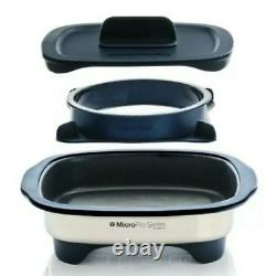 Tupperware MicroPro Grill Grilling in your Microwave PLUS PRO Ring NIB