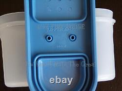 Tupperware Modular Mates Spice Carousel Shaker Containers Vtg Country True Blue