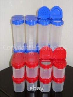 Tupperware Modular Mates Spice Shaker Containers With Carousel Setnew