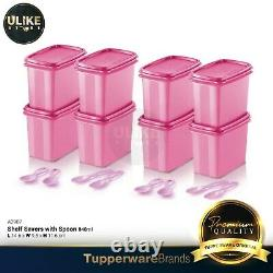 Tupperware Shelf Saver with Spoon / Kitchen Containers (8pcs)