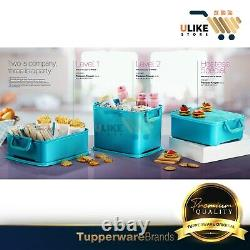 Tupperware Treasure Keeper / Outdoor Food Keeper / Camping / Containers (3units)