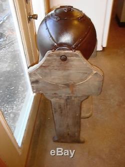 Vintage Rare Butter Churn Washing Machine Dome Spinning Hand Crank