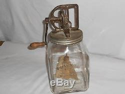 Vintage Antique Dazey #60/6 Qt. Butter Churn With Screen Very Rare! #67