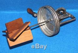 Vintage DAZEY Butter Churn No. 40 Complete with Screen