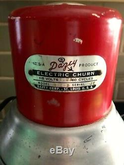 Vintage Dazey Electric Butter Churn Model No 8-E-R Nice Working Condition
