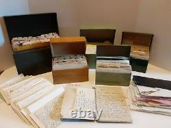 Vintage Lot Estate Lifetime Collection Handwritten Clipped Cooking Recipes