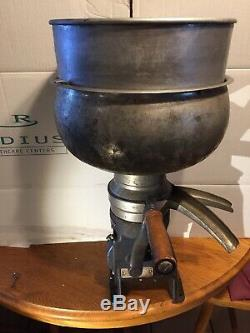 Vintage Montgomery Ward butter churn Hand Crank Commercial 16x24 Inch Tall