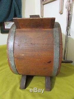 Vintage Sears No. 1 FARM MASTER Butter Churn, Never Used, 3 Gal, Butter Churn, EXC