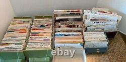 Vtg Lot 1000's Handwritten Clipped Cooking Recipes Desserts Holiday Casseroles